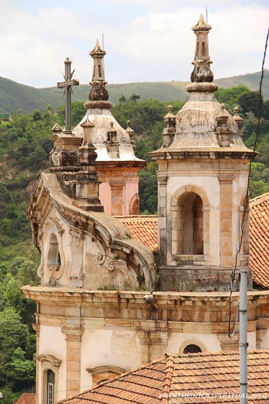 Igreja de Nossa Senhora do Rosário dos Pretos - Ouro Preto - MG