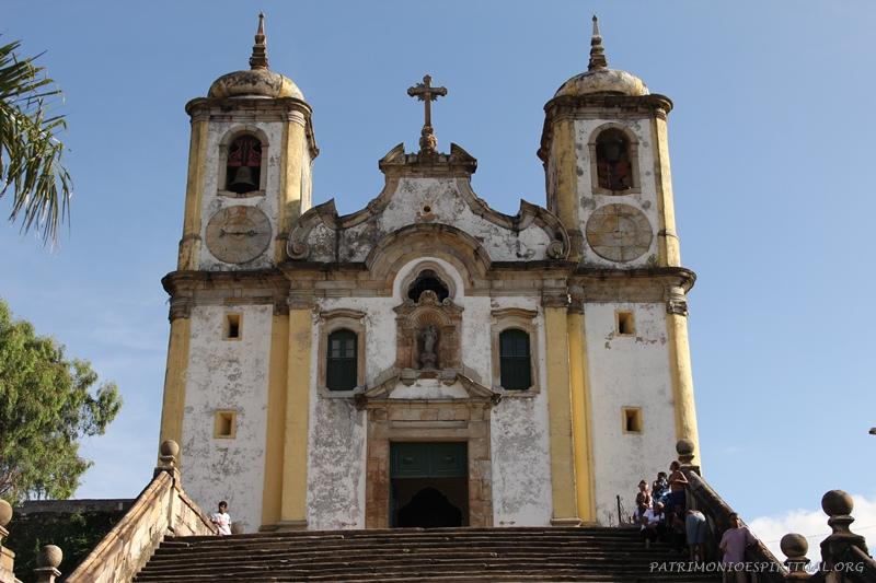 Igreja de Nossa Senhora do Rosário dos Pretos e Santa Efigênia - Ouro Preto - MG