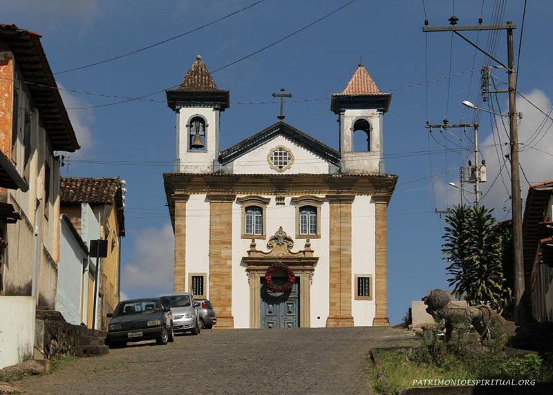 Igreja da Irmandade de Nossa Senhora do Rosário dos Pretos - Mariana - MG