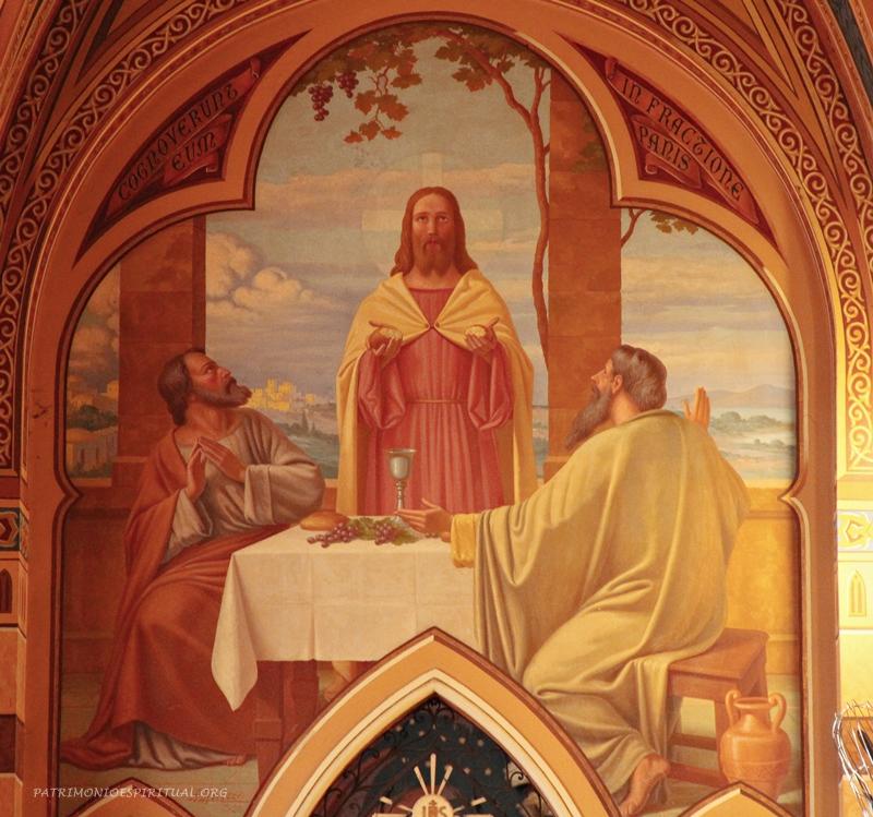 Jesus e os discípulos de Emaús