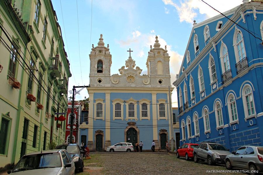 Igreja de Nossa Senhora da Conceição do Boqueirão (irmandade de negros) - Salvador - Bahia