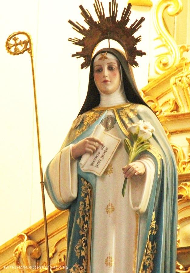 Imagem de Santa Beatriz da Silva, fundadora das concepcionistas