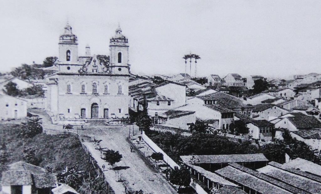 Igreja de Sant'Ana, Salvador, em 1888 (Acervo Ubaldo Sena, in 'Salvador 50 anos de urbanização, Sampaio, Consuelo Novais )
