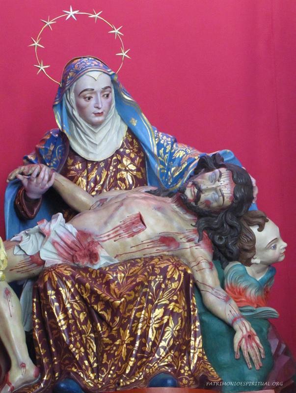 Imagem de Nossa Senhora da Piedade, atribuída ao Aleijadinho