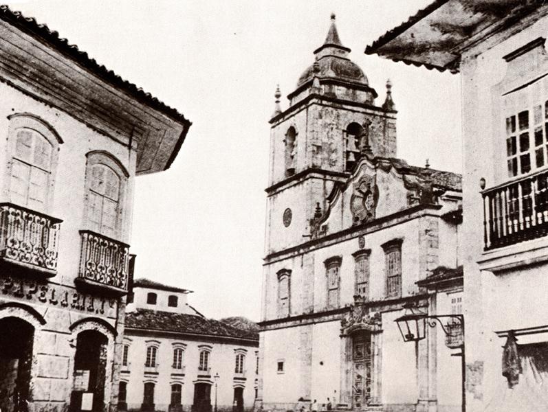 A antiga Sé de São Paulo