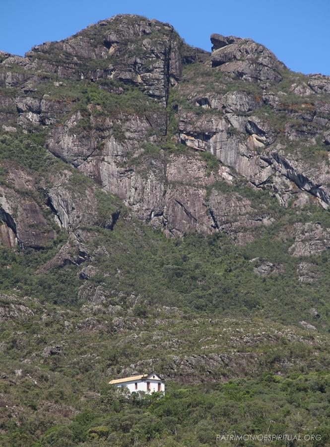Vista do antigo Cenáculo, atual capela do Sagrado Coração de Jesus