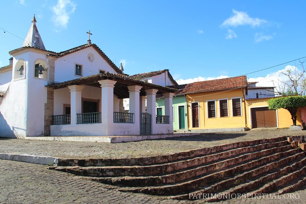 A igreja de Nossa Senhora da Ajuda, a mais antiga de Cachoeira.